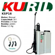 PULVERIZADOR MANUAL DE MOCHILA KURIL KSP16
