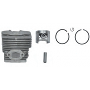 KITS CILINDRO + PISTON ADAPTABLE ( ALPINA VIP 52 - STAR 55 - STIGA SB52 ) REF 12 20027