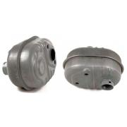 TUBO DE ESCAPE COMPATIBLE CON ( HONDA GX 100 - GC 135 - 160 ) REF 12 49035