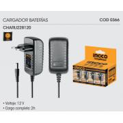 CARGADOR DE BATERIAS INGCO 12V CHARLI228120