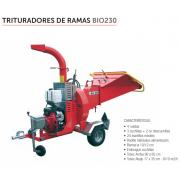 TRITURADOR DE RAMAS CARAVAGGI BIO 230T
