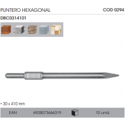 PUNTERO INGCO EXAGONAL DBC0314101