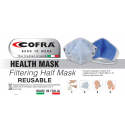 MASCARILLA REUTILIZABLE COFRA HEALTH MASK