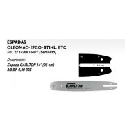 ESPADAS OLEOMAC-EFCO-STIHL, ETC Ref. 22 1426N150PT (Semi-Pro)
