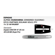 ESPADAS ALPINA-HUSQVARNA-JONSERED-OLEOMACEFCO-PARTNER-DOLMAR-SOLO, ETC Ref. 22 1801WA268SP