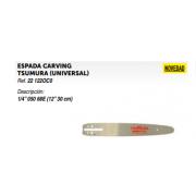 """ESPADA CARVING TSUMURA (UNIVERSAL) Ref. 22 122OC0 Descripción: 1/4"""" 050 68E (12"""" 30 cm)"""