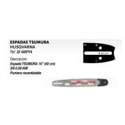 """ESPADAS TSUMURA HUSQVARNA Ref. 22 405FV4 Descripción: Espada TSUMURA 16"""" (40 cm) 3/8 0,58 60E Puntera recambiable"""