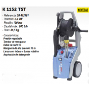 Hidrolimpiadora Kranzle K 1152 TST
