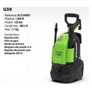 Hidrolimpiadora eléctrica Greenworks G30