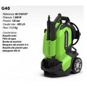 Hidrolimpiadora eléctrica Greenworks G40