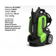 Hidrolimpiadora eléctrica Greenworks G50