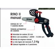 Podadora a batería Zanon RINO II Manual + DRIVE 1304
