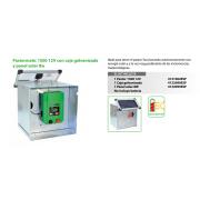 PASTOR ELECTRICO Pastormatic 1500 12V con caja galvanizada y panel solar 8w