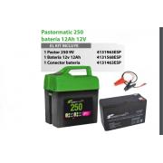 PASTOR ELECTRICO Pastormatic 250 batería 12Ah 12V