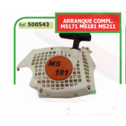 ARRANQUE COMPLETO ADAPTABLE ST MS171 MS181 MS211 500543