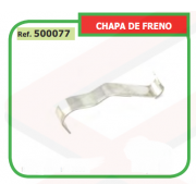 CHAPA DE FRENO ADAPTABLE ST MS230/250 500077