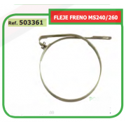 FLEJE FRENO ADAPTABLE ST MS240/260 503361
