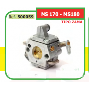 CARBURADOR ADAPTABLE ST TIPO ZAMA MS 170 - MS180 500059