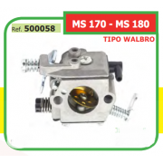 CARBURADOR TIPO WALBRO ADAPTABLE ST MS 170 - MS 180 500058