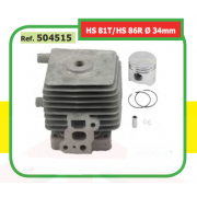 CILINDRO COMPLETO ADAPTABLE ST HS 81T/HS 86R Ø 34mm 504515
