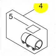 ACOPLAMIENTO TUBO ORIGINAL PODADORA ECHO PPT-2620HES P100-006500