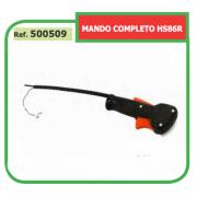 MANDO ACELERADOR COMPLETO CON CABLE ADAPTABLE A CORTASETOS ST HS 500509