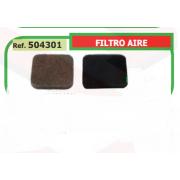 FILTRO AIRE ADAPTABLE DESBROZADORA ST FS-75/80/85 504301