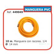 10 m. Manguera con racores. 1/4 Ø 14 mm 449049