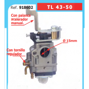 CARBURADOR MOTOBOMBA 2T BASIC 918602