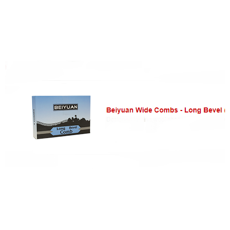 Peine beiyuan LONG BEVEL COMB 7UB-92