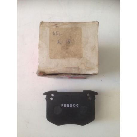 Pastillas de freno FERODO para: Renault 18