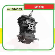 KIT BLOQUE MOTOR COMPLETO ADAPTABLE MOTOSIERRA ST MS 180 . 504569