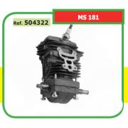 KIT BLOQUE MOTOR COMPLETO ADAPTABLE MOTOSIERRA ST MS 181 504322